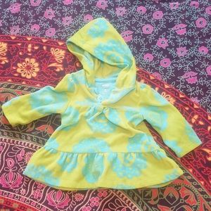 Infants 6m sweater with hood